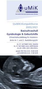 Basisultraschallkurs<br>Gynäkologie & Geburtshilfe