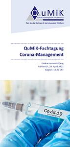 QuMiK-Fachtagung Corona-Management (Online-Veranstaltung) - interne Veranstaltung nur für Mitarbeiter der Mitgliedshäuser